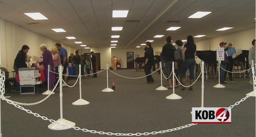 KOB News 4: Albuquerque offers same-day registration during early voting