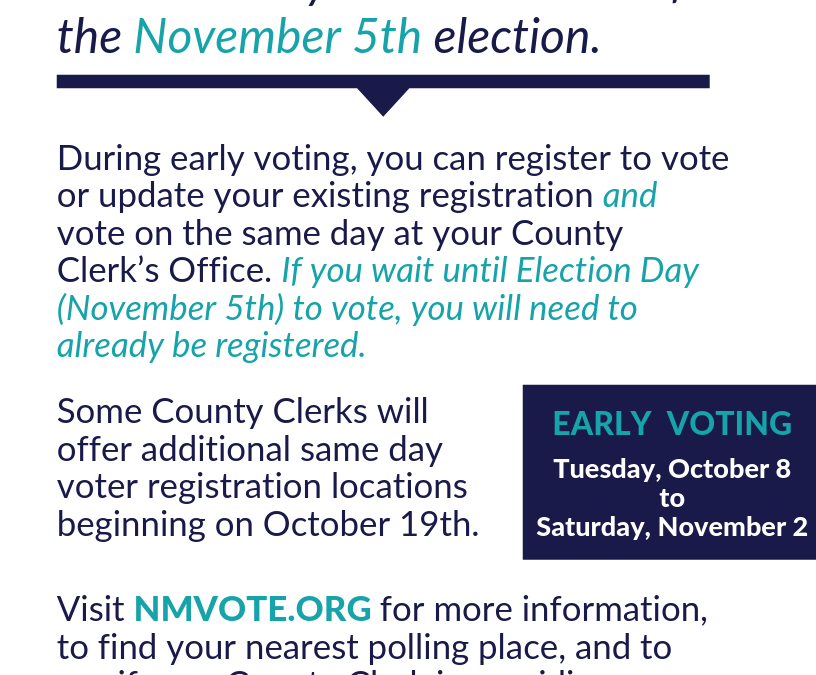 What You Need to Know About Same Day Voter Registration for the 2019 Regular Local Election